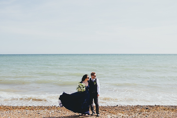 A Low Key, Intimate, Family Lunch Style Wedding By The Sea, With Just 10 Guests