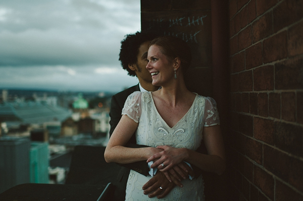 'Love In The Lighthouse' ~ Elisha by Temperley for an Urban Chic Style Wedding in Glasgow