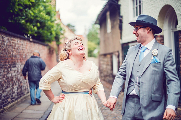 A Fun and Fabulous Fifties Jazz And Vintage Travel Inspired Wedding