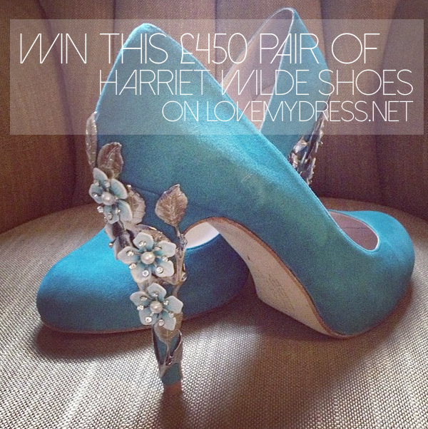 Win A £450 Pair of Harriet Wilde Shoes