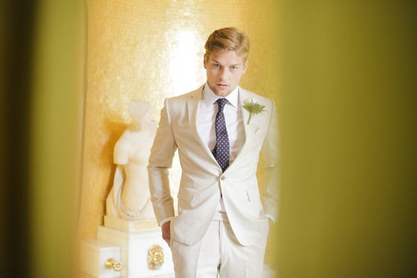 For The Groom: Great Gatsby Inspired Sartorial Elegance
