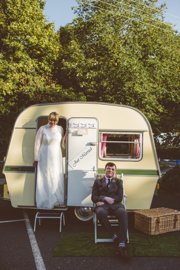 A Handmade, DIY, 60's Retro Style Village Hall Wedding