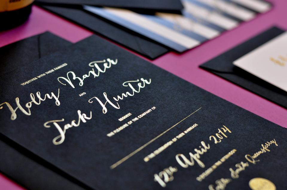 E.Y.I.Love ~ Super Stylish Luxury Wedding Stationery