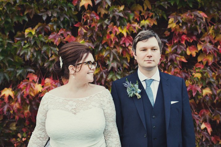 Paper Cranes, Books, A Beehive and Glasses:  A Stylish Literary Inspired Wedding