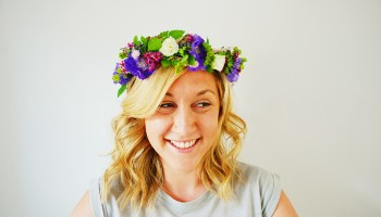 How to make a Bridal Flower Crown