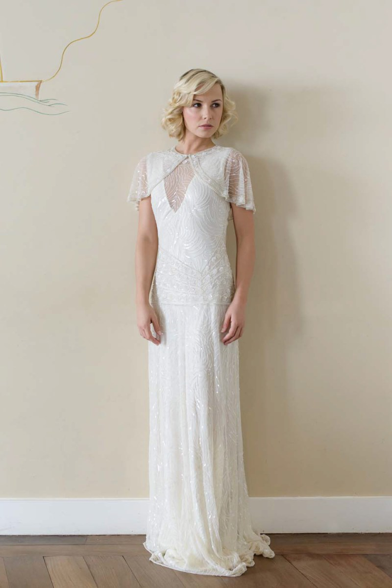 Vicky rowe 1920s and 1930s style beaded and intricately for 30s style wedding dress