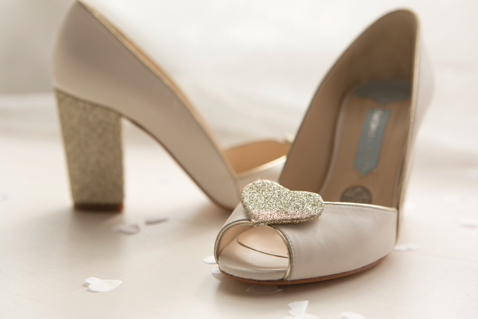 Charlotte Mills Bridal – A Silver Sixpence In Her Shoe!
