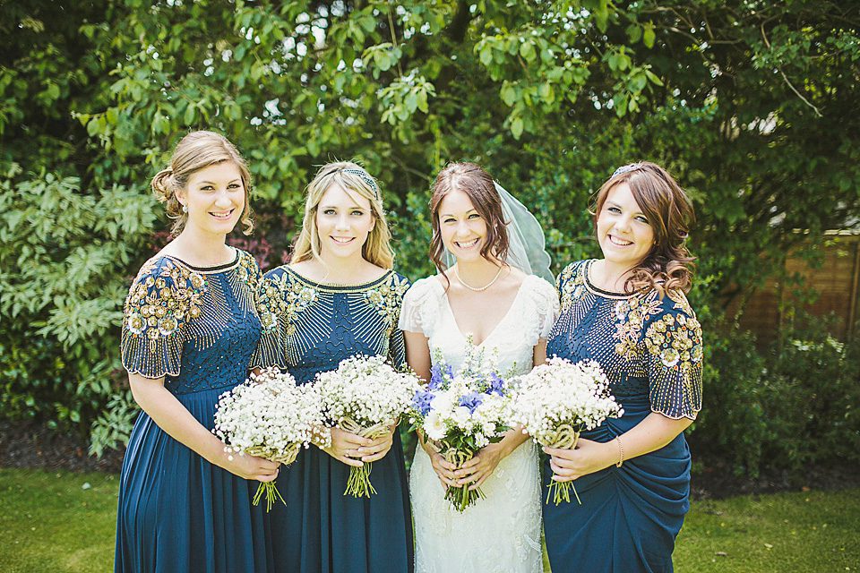 Eliza Jane Howell Glamour for a Family Farm Wedding in Northumberland