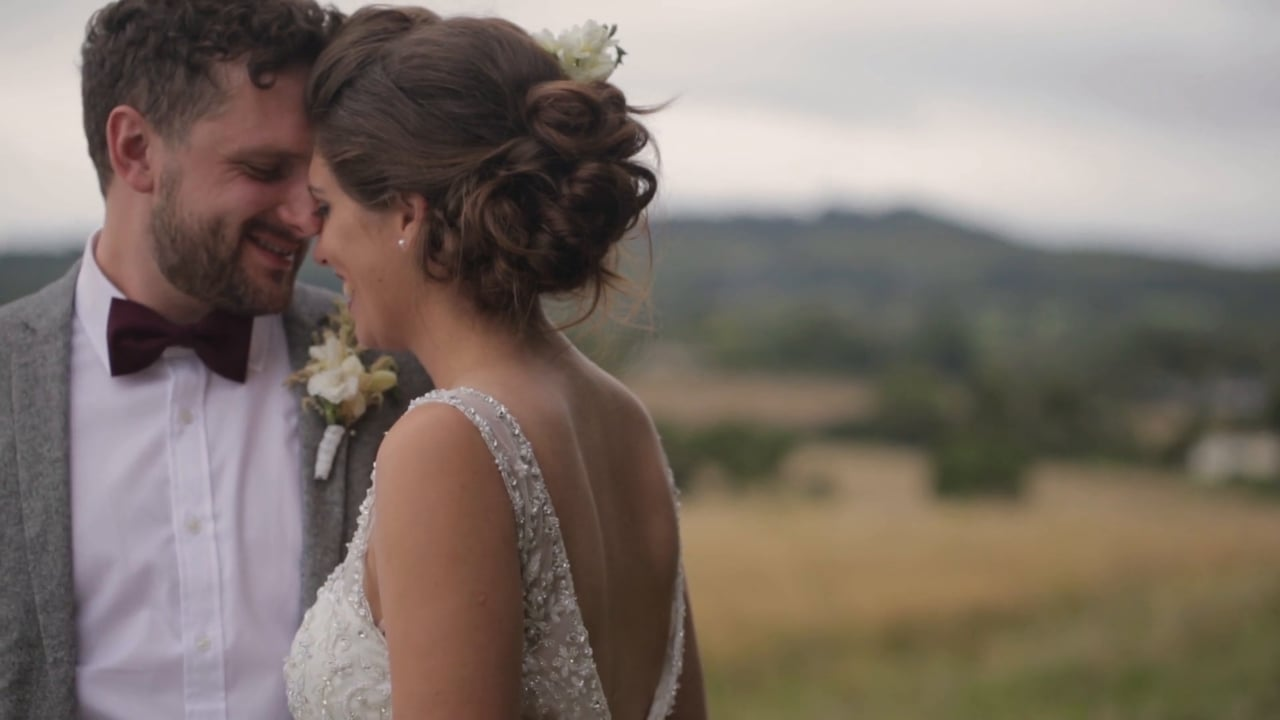 Mid-Day Movie – Matt and Heather and Their 1940s Inspired Somerset Wedding