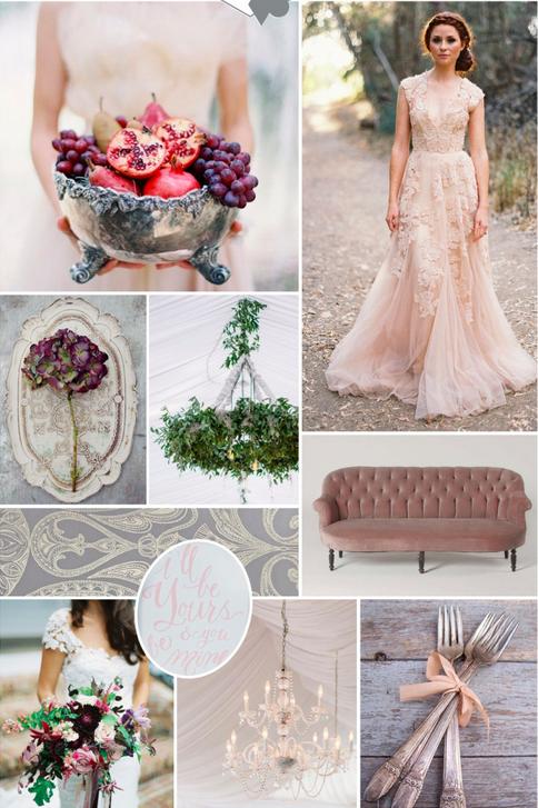 BRIDAL INSPIRATION BOARDS #77 ~ Elegant Country House Wedding