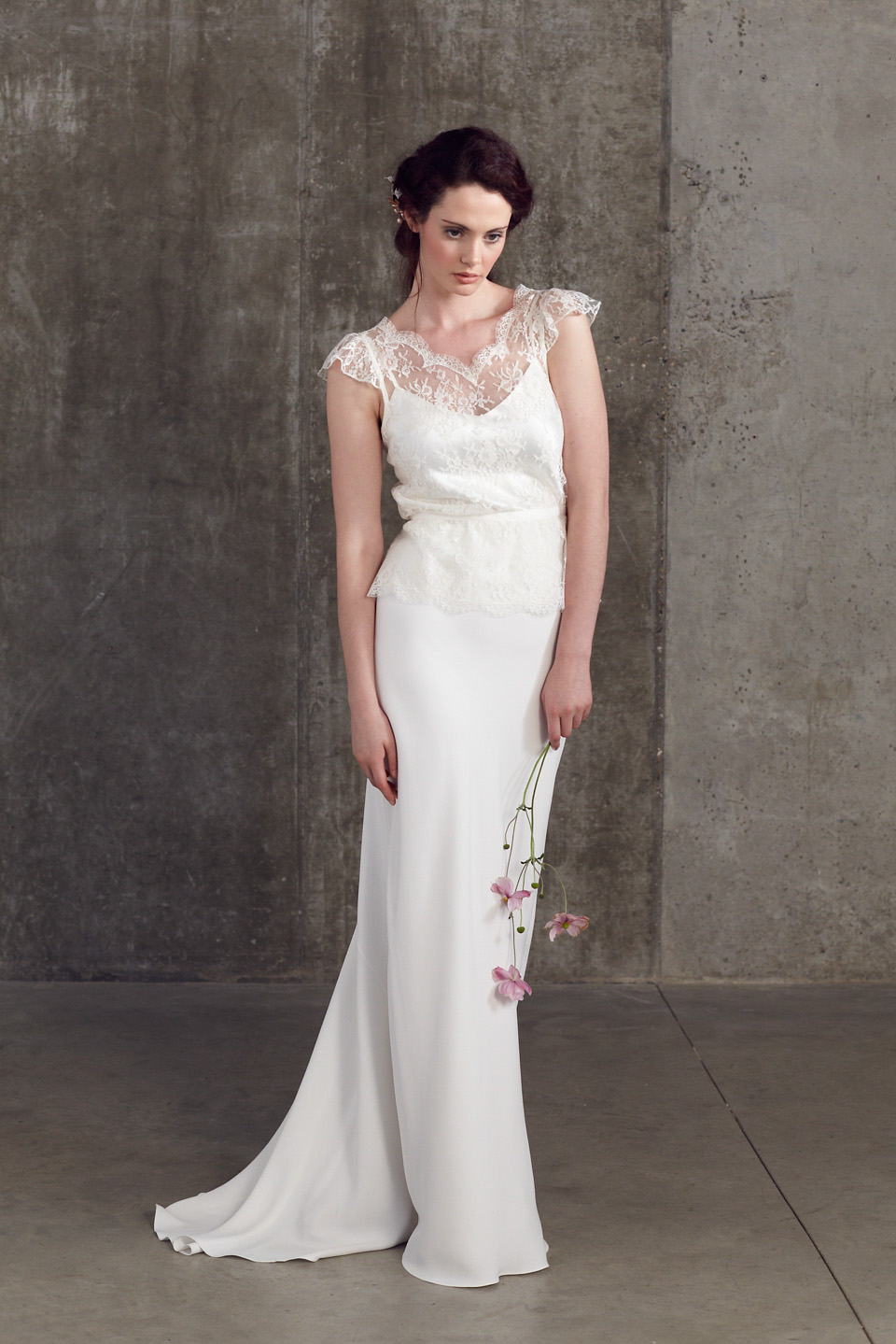 bridal separates sally lacock 2 piece wedding dresses wedding dress 2 piece Bridal Separates by Sally Lacock An Exquisite and Elegant Collection of 2 Piece Wedding