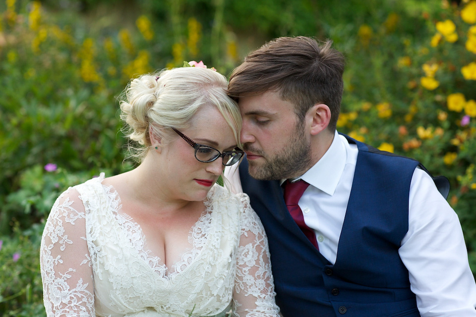 A 50's Inspired Petticoat and Lace for a Colourful Summer Farm Wedding