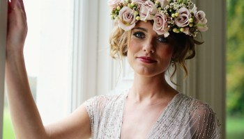 Curious and Quirky Meets Glamorous and Elegant Wedding Day Style