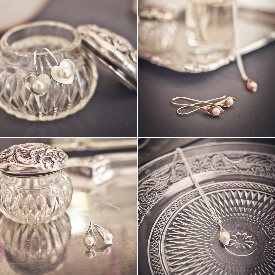 Romantic Sterling Silver and Pearl Jewellery for Brides by Emma Kate Francis