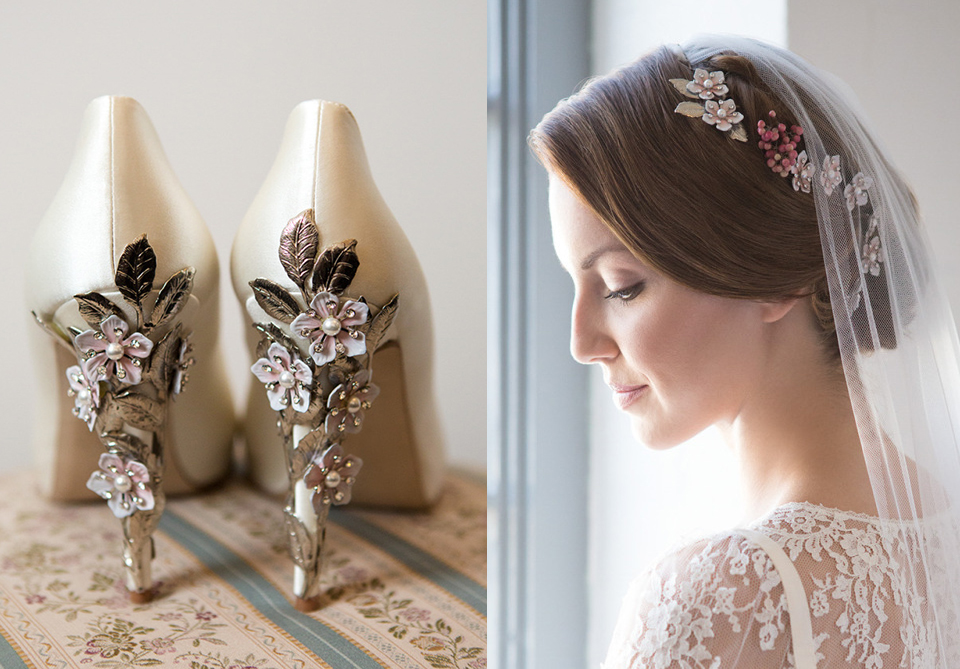 Harriet Wilde – Exquisite, Co-ordinating Floral Hair Accessories and Shoes