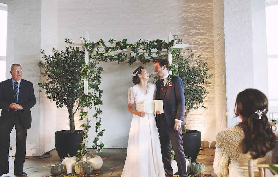 A Botanical Inspired 'Outdoors Indoors' Wedding on London Wharf