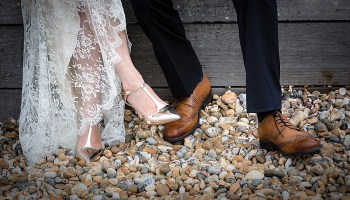 An Edwardian Inspired Dress for an Intimate Family Wedding in Whitstable