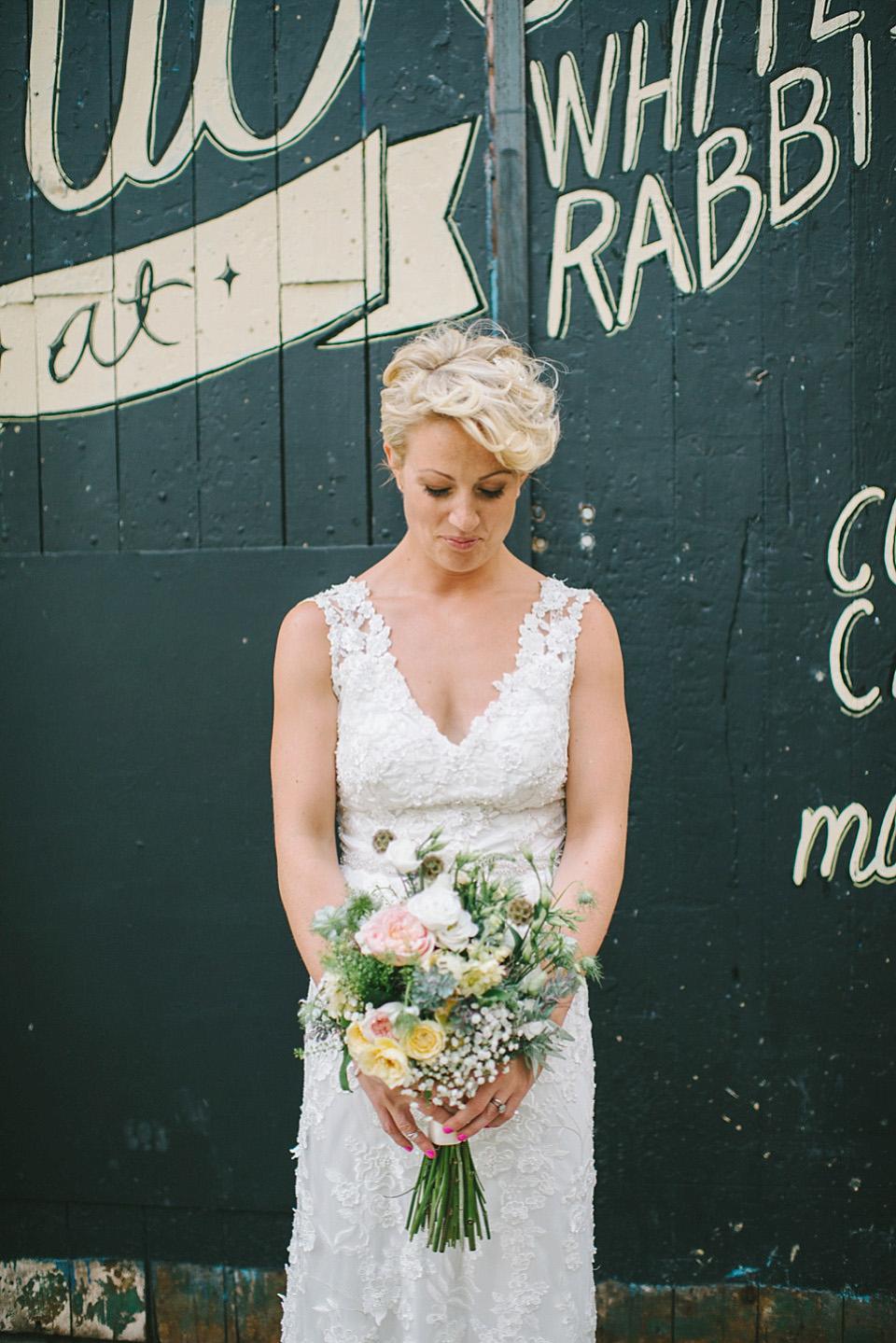 A Laidback East London Wedding at Shoreditch Studios (Weddings )
