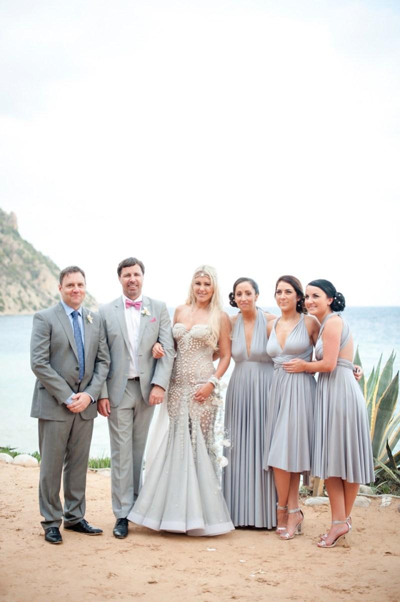 A Mermaid Inspired Wedding Dress For An Island Wedding By