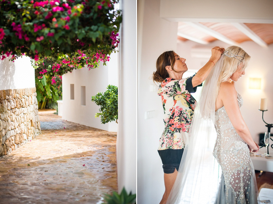 A Mermaid Inspired Dress for an Ibiza Wedding By The Sea (Weddings )