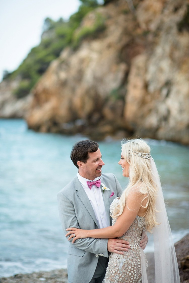 A Mermaid Inspired Dress For An Ibiza Wedding By The Sea