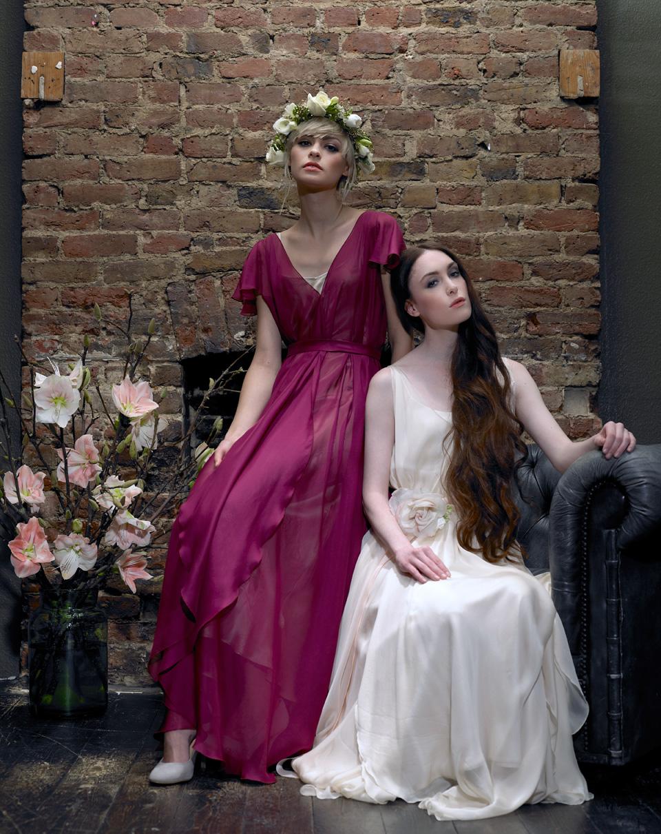Cherry Williams London – Bespoke Bridesmaids Dresses In Stunning ...