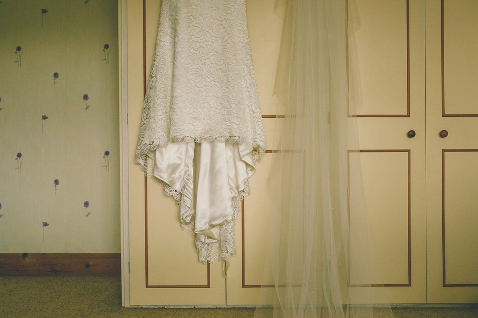 A Suzanne Neville Gown and Bicycle Made for Two (Weddings )