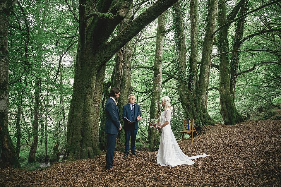 An Edwardian Wedding Dress for a Woodland Handfasting | Love My ...