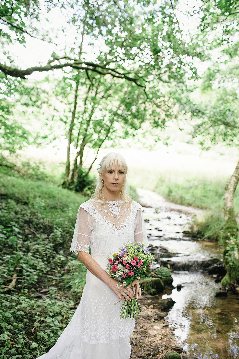 An Edwardian Wedding Dress for a Woodland Handfasting (Weddings )