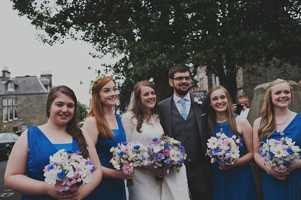 A Traditional, Hand-made Afternoon Tea Party Wedding in Scotland (Weddings )