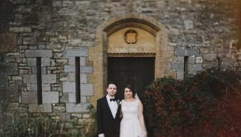 An Elegant Black Tie Winter Wedding in Devon
