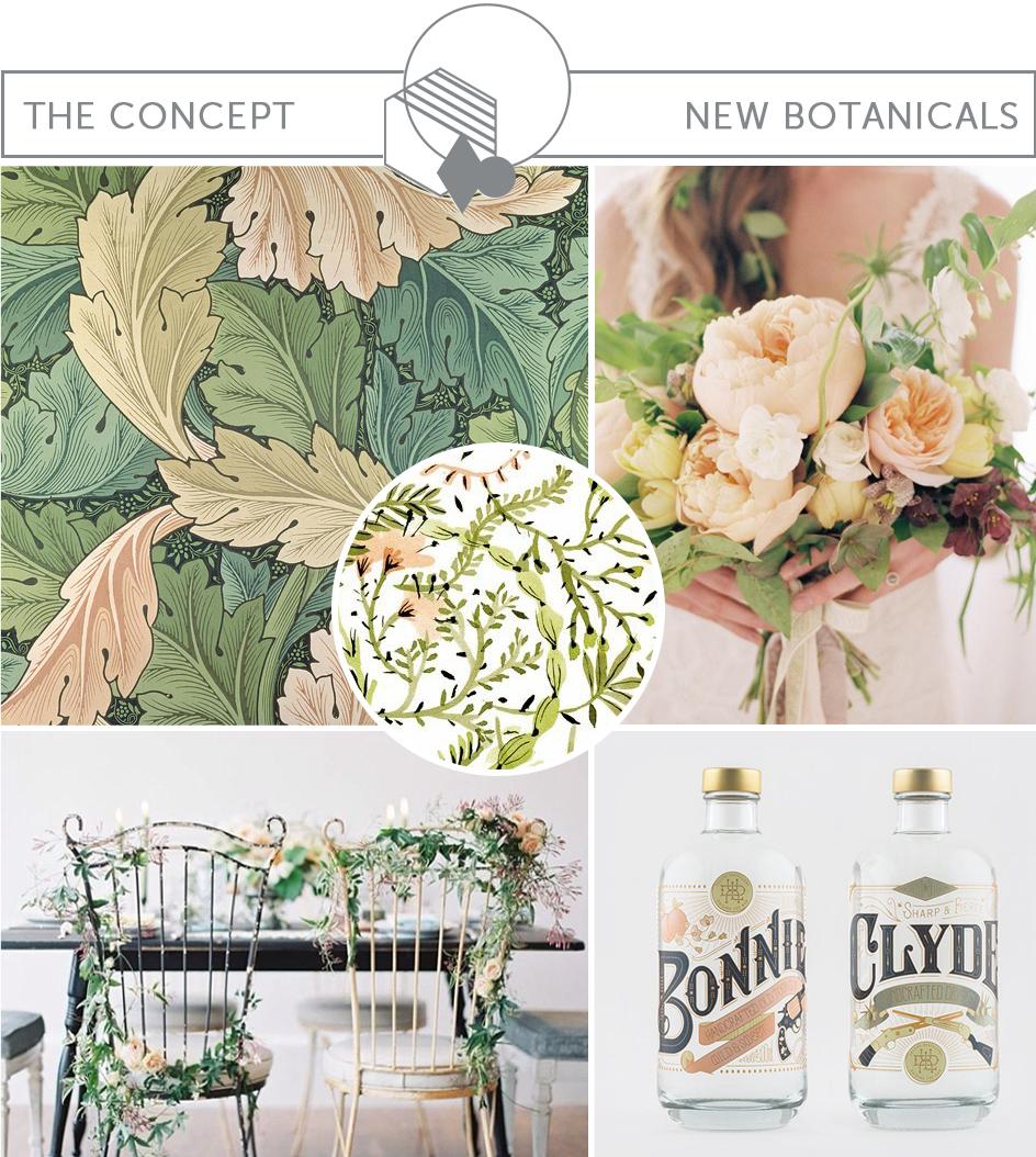 BRIDAL INSPIRATION BOARD #81 ~ Botanical Wedding