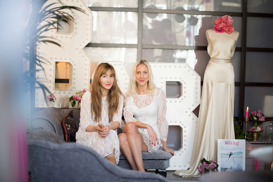 Inside The Stylish World Of Belle & Bunty: Flirtatiously British Bridal Fashion Designers