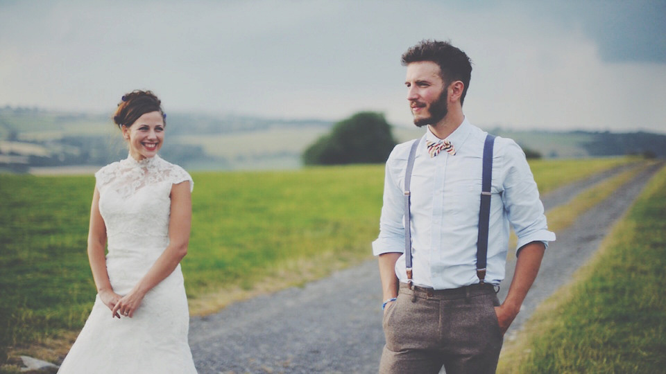 A Wildflower Meadow Wedding with a Festival Vibe (Films Weddings )