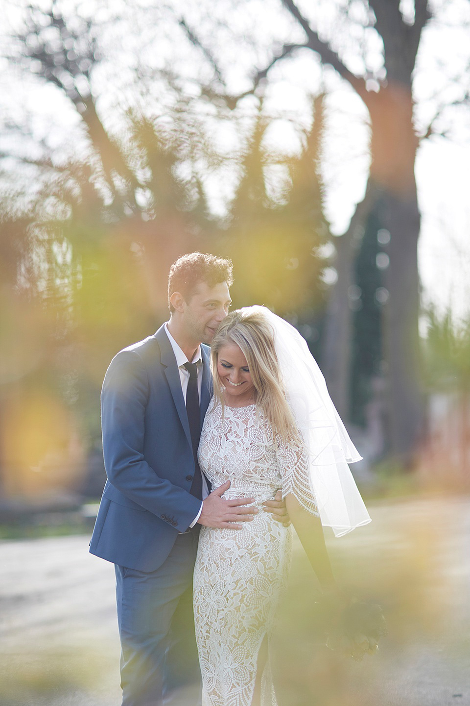 A Pared Back, Intimate and Modern Urban Wedding in London