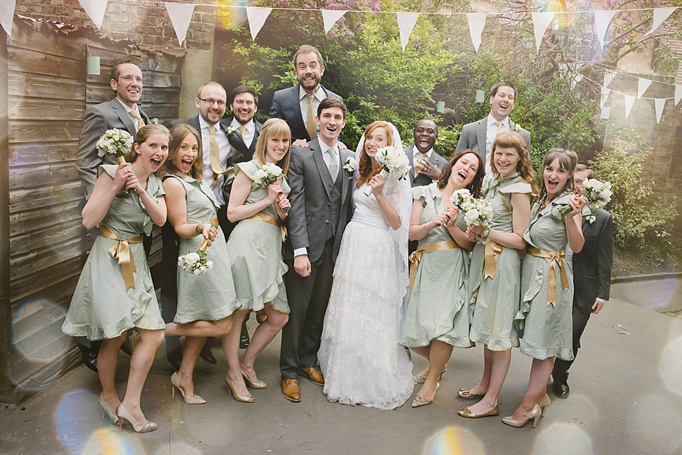 A Pale Green and Gold Baroque Inspired Wedding (Weddings )