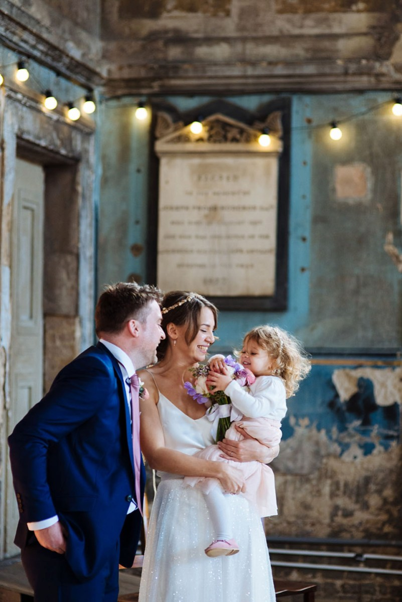 Charlie Brear Tulle And Sequins For A Fun And Relaxed London Wedding