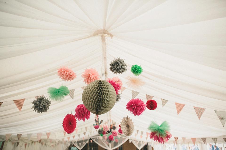 A Vivienne Westwood Wedding Dress for a Natural Inspired Humanist Garden Wedding (Weddings )
