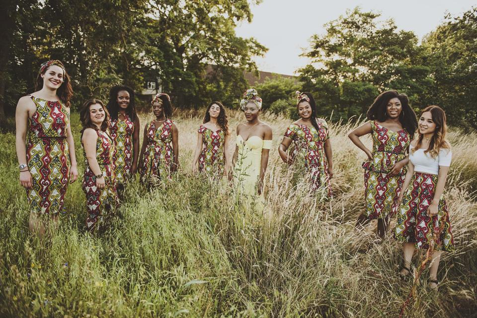 Zambian traditional wedding dresses chitenge designs for for Kitchen design zambia