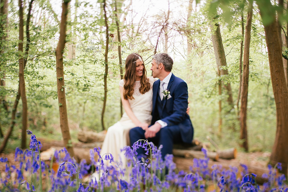 Bluebells and Barn Dancing – An Outdoor and Rustic Glamping Festival Wedding