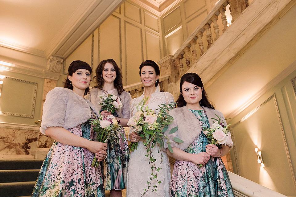 Temperley London Elegance for a Glamorous Winter Wedding at Wiltons Music Hall (Weddings )