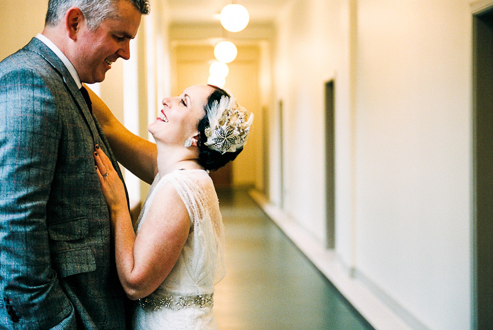 A 1930's Art Deco Inspired London Wedding (Films Weddings )