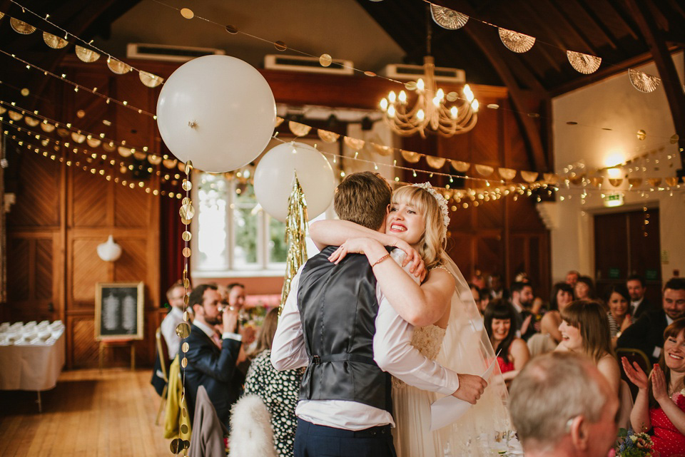 A Sweet, Springtime Village Hall Wedding