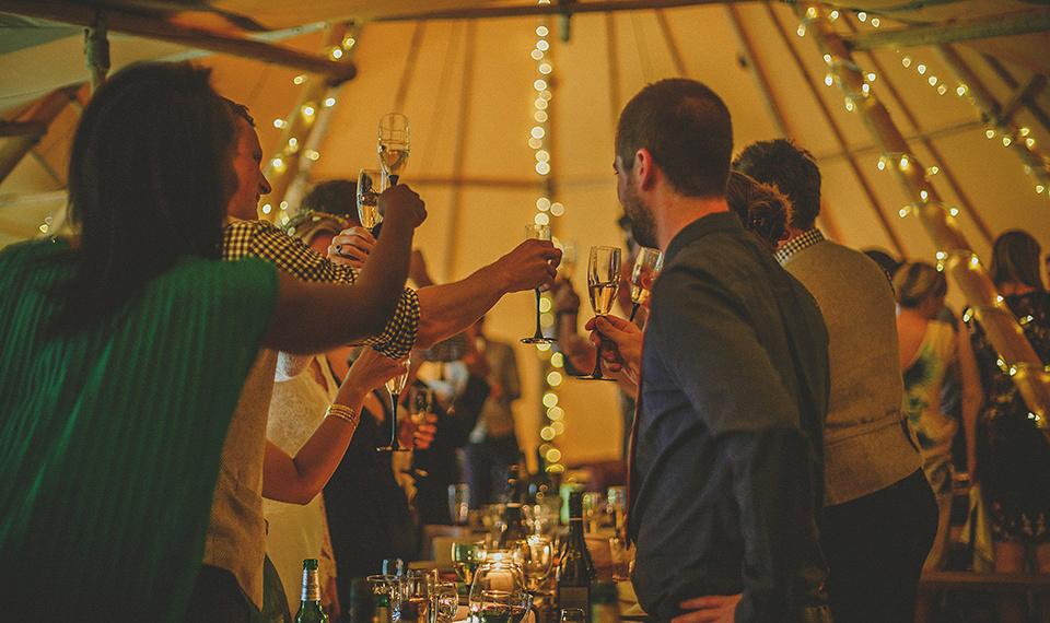 An International, Festival Inspired English Country House Wedding (Weddings )