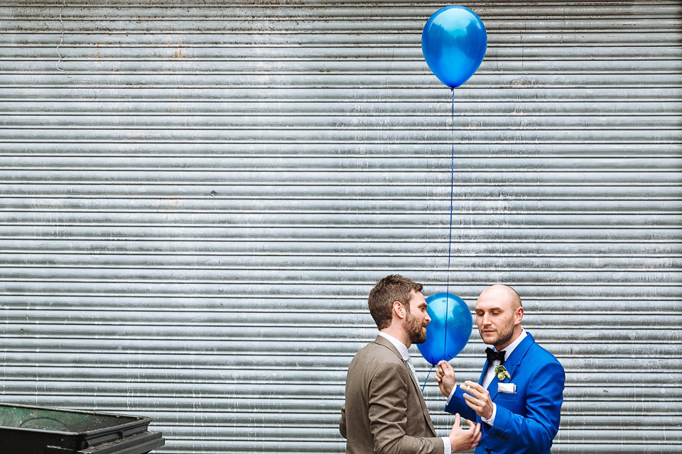 A Colourful and Cool East London and Frida Kahlo Inspired Wedding (Weddings )