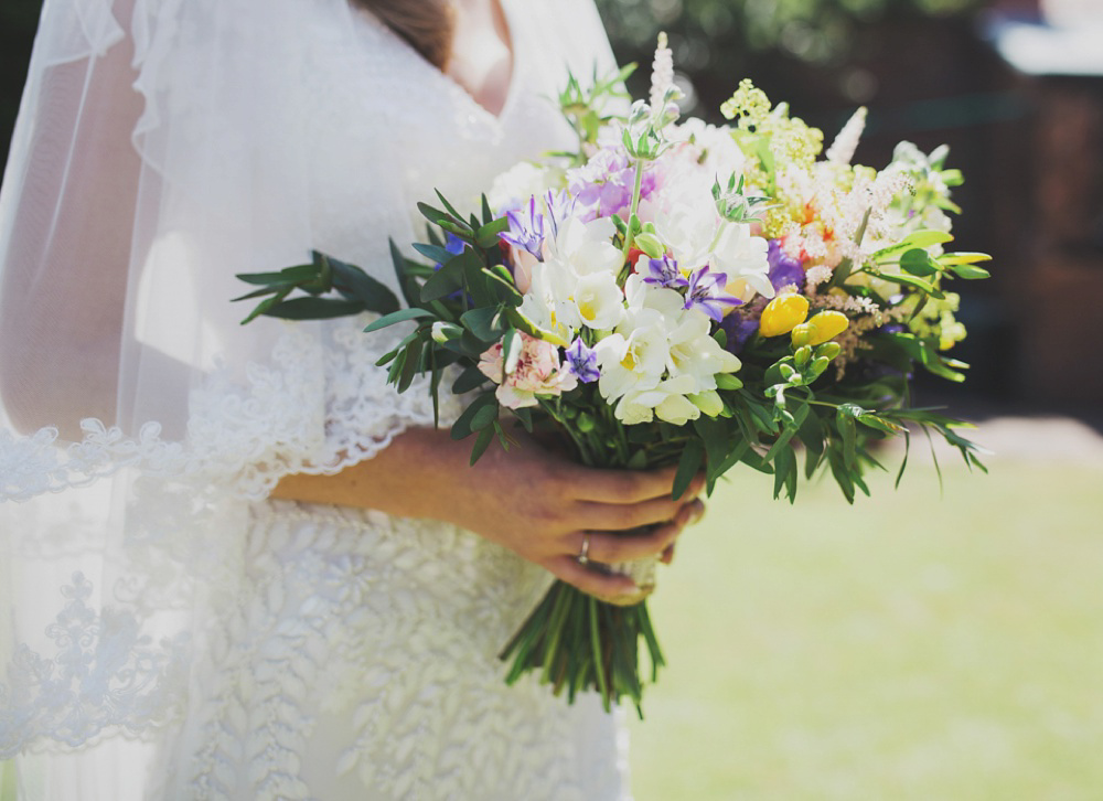 Eliza Jane Howells Glamour and Home Grown British Blooms (Weddings )