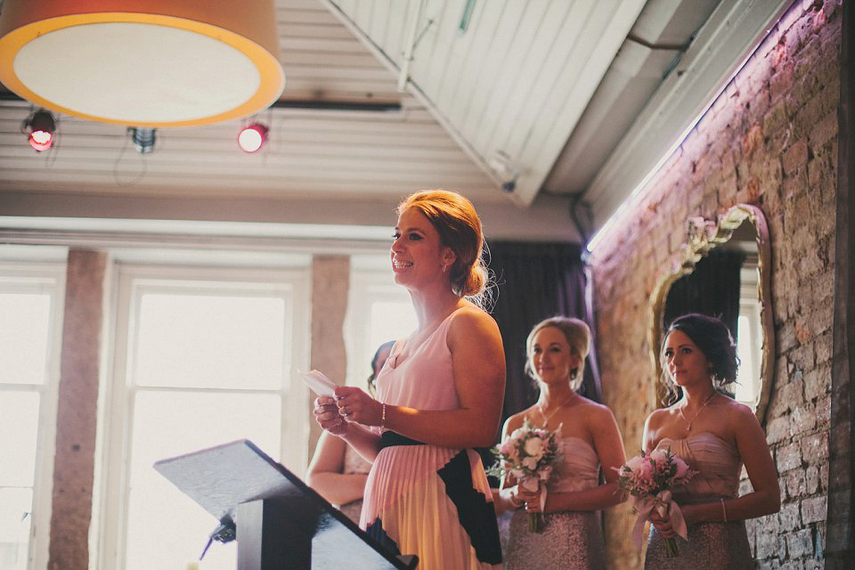 A Humanist Ceremony for an Old-School Vintage Glamour Inspired Wedding (Weddings )