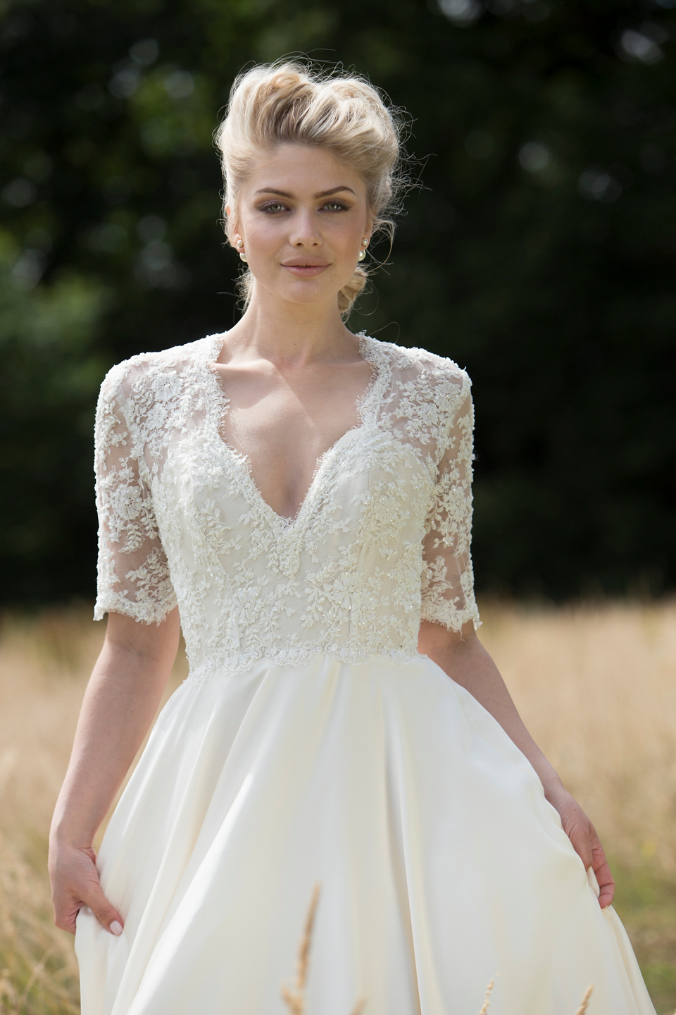 To Be Loved – The Romantic New Bridalwear Collection From Lyn Ashworth by Sarah Barrett