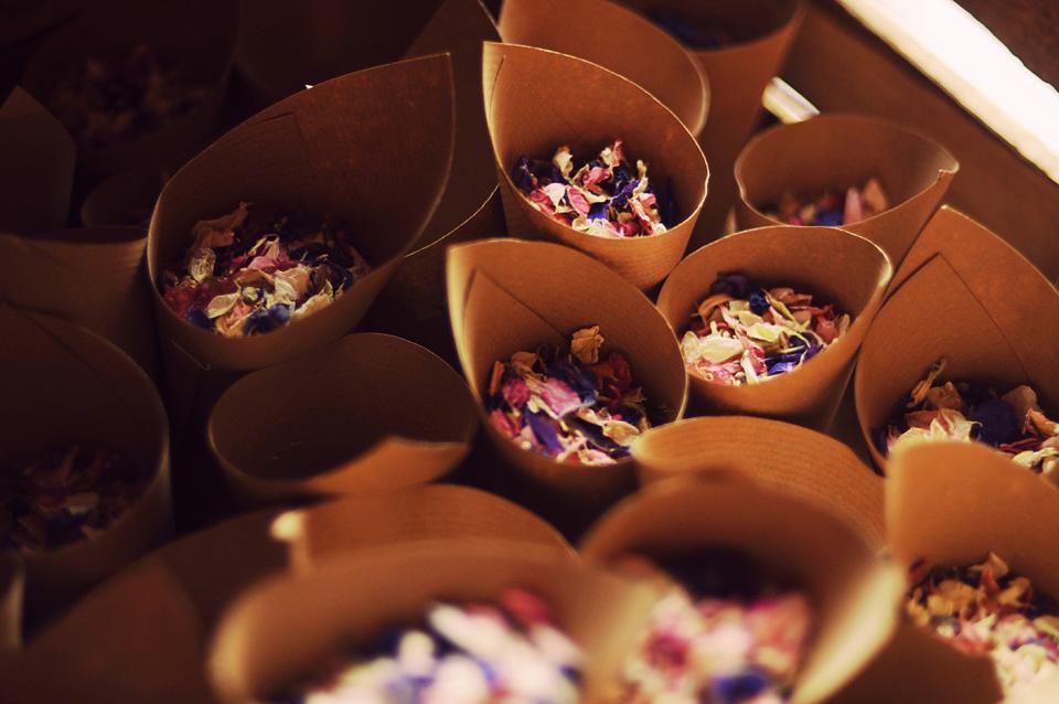 Wildflowers, a Windmill and Handmade Wedding Rings (Weddings )