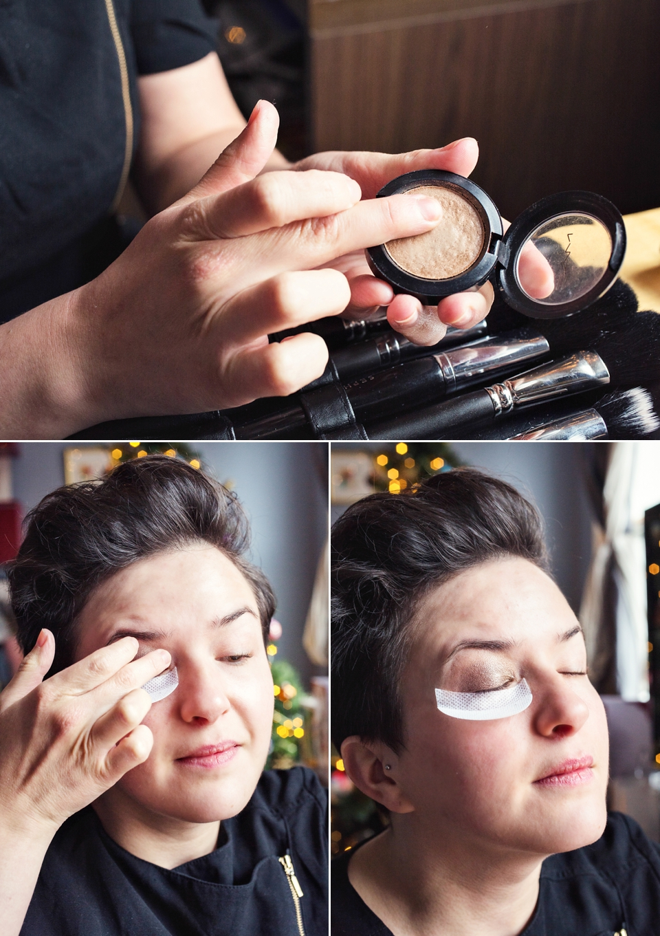 Christmas Party and Festive Makeup Tutorial: Sultry smoky eyes, glowy skin and a red lip (Beauty DIY Projects Fashion & Beauty )